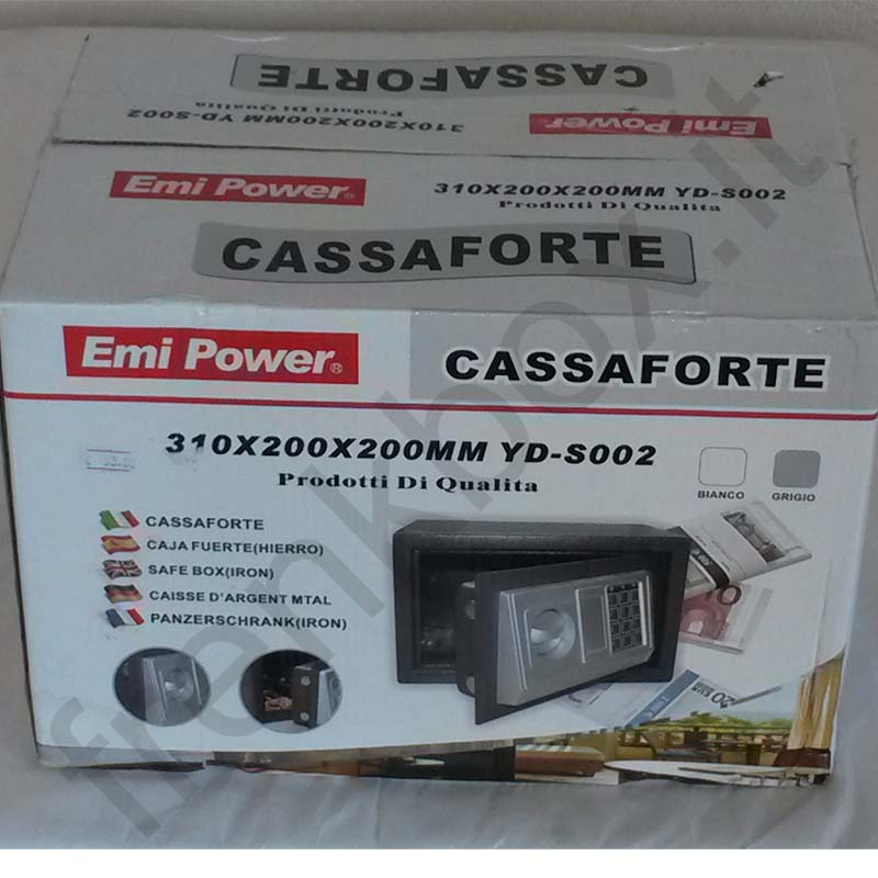 Cassaforte Emi Power misure 310x200x200 mm con Combinatore Elettronico