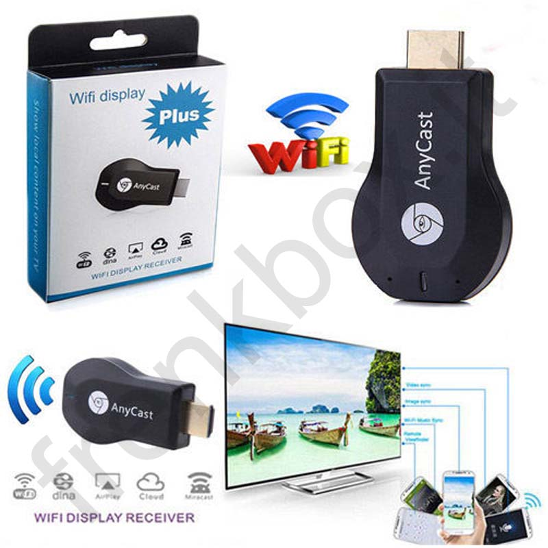 Chiavetta Dongle Anycast WIFI Display PLUS DLNA Airplay HDMI IOS ANDROID per Smartphone