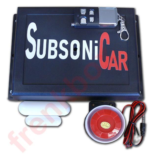 Antifurto Subsonico Ideale Per Camper Furgoni Tir Auto Ufficio Deposito Casa