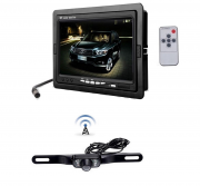 "Kit retromarcia auto camper wireless senza fili: Monitor Lcd 7"" + Telecamera"