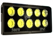 Faro BIG COB LED ARRAY 500watt per campo sportivo calcio,calcetto,tennis