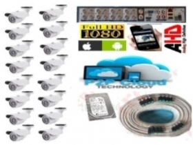Kit videosorveglianza DVR Hdmi