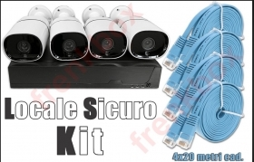 Kit videosorveglianza intellig