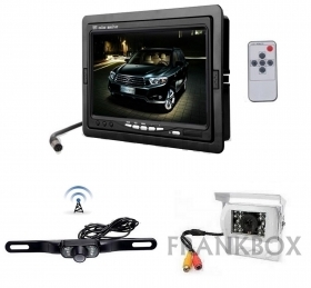 Kit retromarcia auto camper Monitor