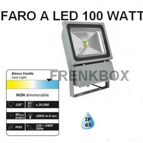 Faro faretto a led 100 W WATT