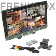 "Mini monitor TFT/LED 10"" 2 ingressi av1\av2 videosorveglianza sorveglianza PC"