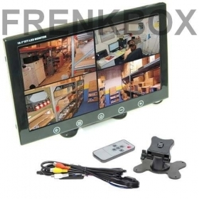 "Mini monitor TFT/LED 10"" 2 ing"