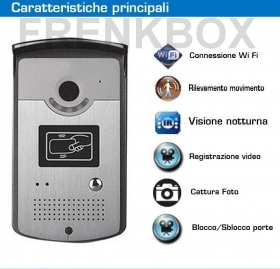 Videocitofono IP wifi wireless
